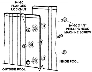 How to Assembly your Above Ground Pool Wall Joints