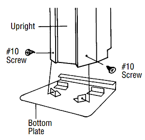 How to Assembly your Above Ground Pool Vertical Supports
