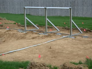 Above Ground Pool Deep End Installation for Oval Pools
