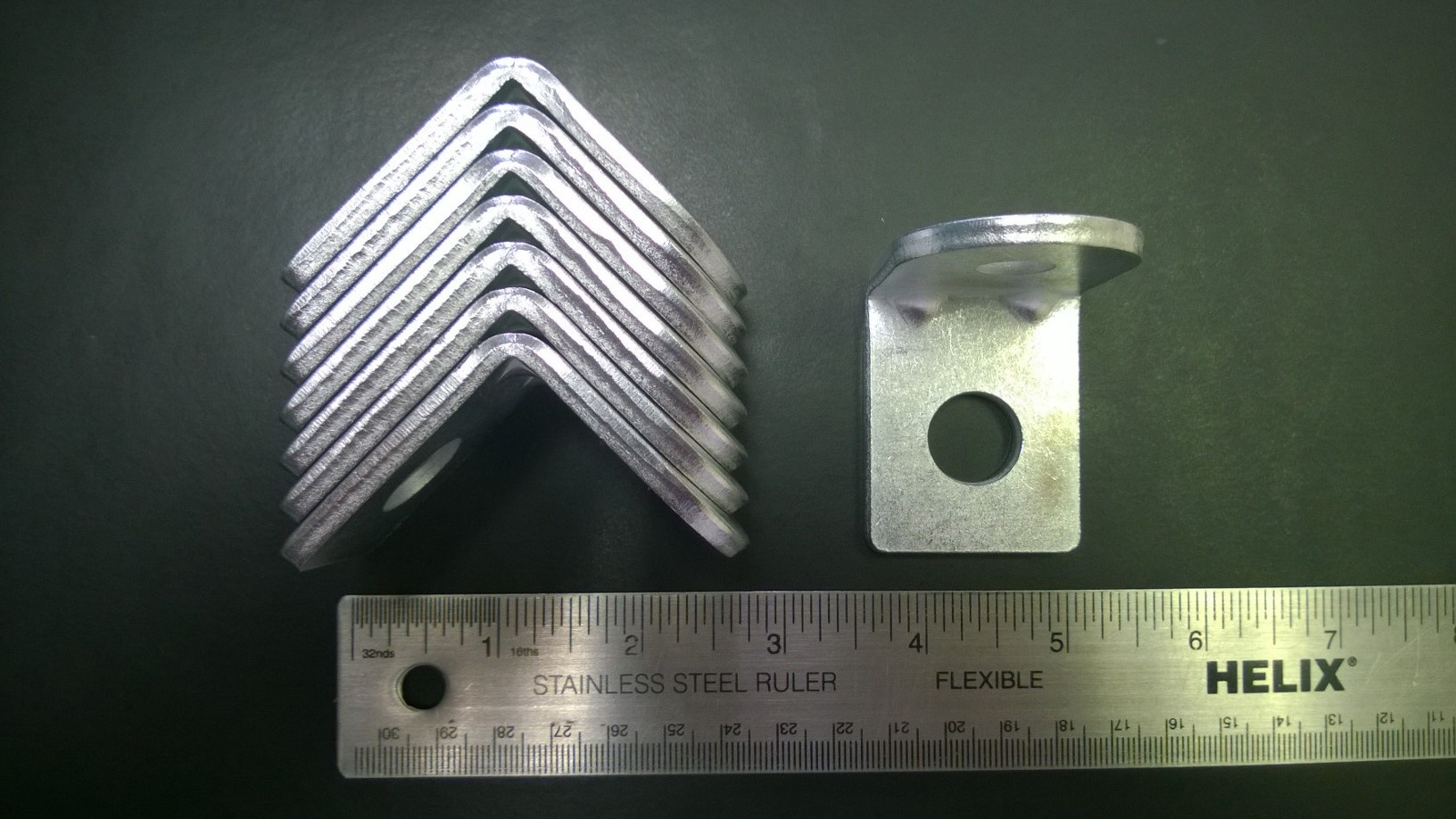 threaded angle bracket